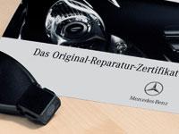Mercedes Werkstatt Zertifikat